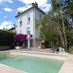 Отель Villa Bleu Lavande бассейн