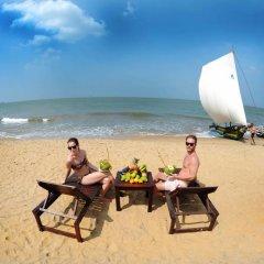 Отель Golden Star Beach Hotel Шри-Ланка, Негомбо - отзывы, цены и фото номеров - забронировать отель Golden Star Beach Hotel онлайн приотельная территория