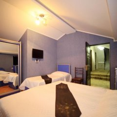Hotel Edelweiss 3* Номер Делюкс с различными типами кроватей фото 6