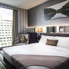 Отель The Continent Bangkok by Compass Hospitality 4* Стандартный номер с различными типами кроватей фото 4