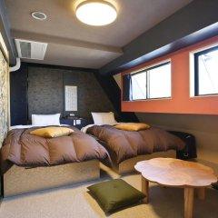 SAMURAIS HOSTEL Ikebukuro Стандартный семейный номер с двуспальной кроватью фото 3