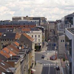 Отель Radisson RED Brussels 4* Улучшенный номер с различными типами кроватей фото 4