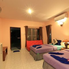 Отель Saladan Beach Resort 3* Бунгало с различными типами кроватей фото 29