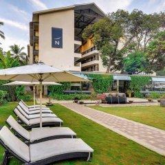 Отель Novotel Goa Resort and Spa Индия, Гоа - отзывы, цены и фото номеров - забронировать отель Novotel Goa Resort and Spa онлайн бассейн фото 3