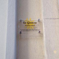 Отель La Gioiosa B&B интерьер отеля