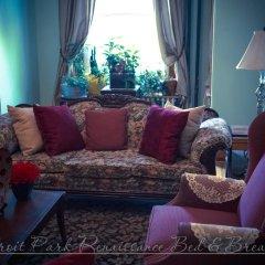 Отель Ledroit Park Renaissance Bed and Breakfast США, Вашингтон - отзывы, цены и фото номеров - забронировать отель Ledroit Park Renaissance Bed and Breakfast онлайн комната для гостей фото 3