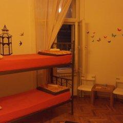 Time Hostel Кровать в общем номере с двухъярусной кроватью фото 4