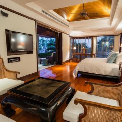 Отель Trisara Villas & Residences Phuket 5* Стандартный номер с различными типами кроватей фото 47