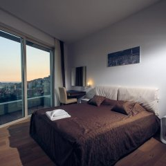 Апартаменты Sky View Luxury Apartments Улучшенные апартаменты с различными типами кроватей фото 8