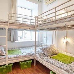 Хостел Абрикос Кровать в общем номере с двухъярусными кроватями фото 14