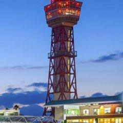 Fukuoka Sunpalace Hotel And Hall Порт Хаката приотельная территория фото 2