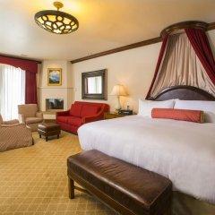 Отель The Arrabelle at Vail Square, A RockResort 5* Улучшенный номер с различными типами кроватей