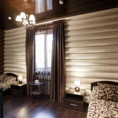 Hotel LogHouse Номер Комфорт разные типы кроватей фото 4