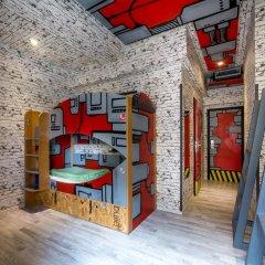 Chillout Hostel Zagreb Кровать в общем номере с двухъярусной кроватью фото 40