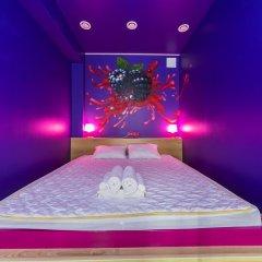 Гостиница HQ Hostelberry Стандартный семейный номер разные типы кроватей (общая ванная комната) фото 4