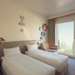 Отель Rove Downtown Dubai Стандартный номер с различными типами кроватей
