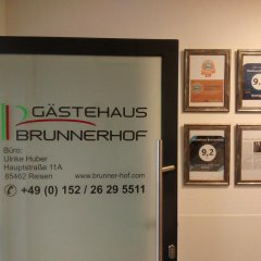 Отель Gästehaus Brunnerhof интерьер отеля