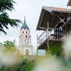 Отель Villa Bergmann Suites Meran Меран приотельная территория