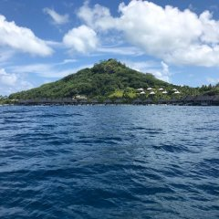 Отель Blue Heaven Island Французская Полинезия, Бора-Бора - отзывы, цены и фото номеров - забронировать отель Blue Heaven Island онлайн пляж фото 4