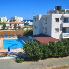 Отель Maouris Villa Кипр, Протарас - отзывы, цены и фото номеров - забронировать отель Maouris Villa онлайн пляж фото 2