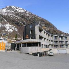 Апартаменты Hordatun Apartments парковка