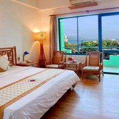 Green Hotel Nha Trang 3* Улучшенный номер фото 14