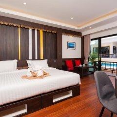 Отель Simple Life Cliff View Resort 3* Улучшенный номер с различными типами кроватей фото 16