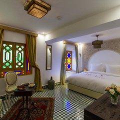 Отель Riad Amor Марокко, Фес - отзывы, цены и фото номеров - забронировать отель Riad Amor онлайн комната для гостей фото 4