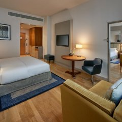 Отель Hilton Cologne 4* Стандартный номер разные типы кроватей фото 15