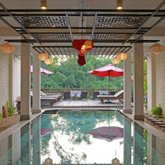 Thien Thanh Green View Boutique Hotel бассейн фото 2