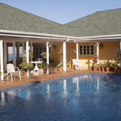 Отель Polkerris Bed & Breakfast Ямайка, Монтего-Бей - отзывы, цены и фото номеров - забронировать отель Polkerris Bed & Breakfast онлайн бассейн фото 3