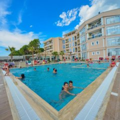 Отель Klajdi Албания, Голем - отзывы, цены и фото номеров - забронировать отель Klajdi онлайн бассейн фото 2