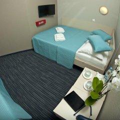 Капсульный Отель Воздушный Экспресс Шереметьево Стандартный номер 2 отдельными кровати фото 8