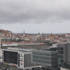 Апартаменты Reval Premium Apartment Таллин балкон