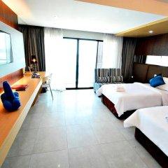 Отель Golden Dragon Beach Pattaya 3* Номер Делюкс с различными типами кроватей фото 4