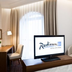 Radisson Blu Hotel, Kyiv Podil 4* Представительский люкс с двуспальной кроватью фото 3