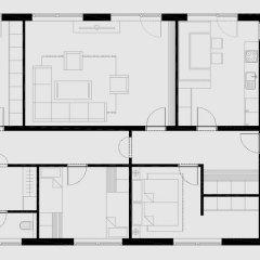 Отель Gästehaus Edinger 2* Апартаменты с различными типами кроватей фото 10