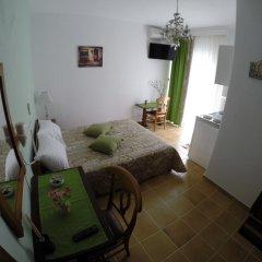 Akrotiri Hotel Студия с разными типами кроватей фото 12