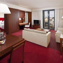 Melia Berlin Hotel 4* Представительский люкс разные типы кроватей фото 3