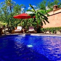 Отель Hacienda de Los Santos бассейн фото 2