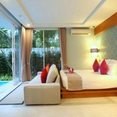 Отель APSARA Beachfront Resort and Villa 4* Улучшенный номер с различными типами кроватей