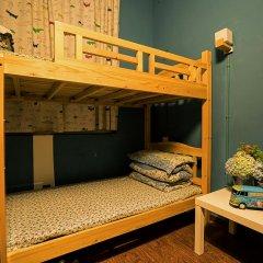 Chengdu Steam Hostel Кровать в общем номере с двухъярусной кроватью