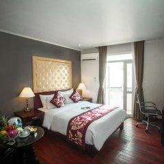 Medallion Hanoi Hotel 4* Улучшенный номер двуспальная кровать фото 4