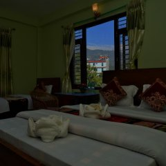 Отель Mandala Непал, Покхара - отзывы, цены и фото номеров - забронировать отель Mandala онлайн интерьер отеля