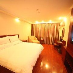 GreenTree Inn Jiangxi Jiujiang Shili Avenue Business Hotel 2* Номер Бизнес с различными типами кроватей фото 2