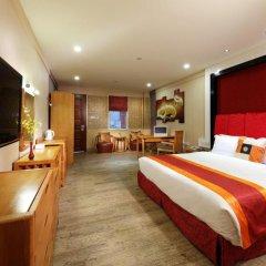 Guangzhou The Royal Garden Hotel 3* Улучшенный номер с различными типами кроватей фото 3