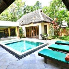 Отель Baan Khao Hua Jook 3* Вилла Делюкс с различными типами кроватей
