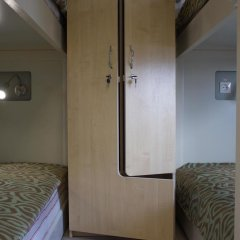 Гостиница Посадский 3* Кровать в мужском общем номере с двухъярусными кроватями фото 19