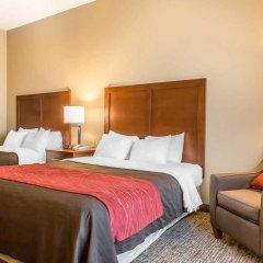 Отель Comfort Inn 2* Стандартный номер с различными типами кроватей фото 3