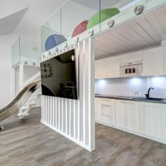Апартаменты Dom & House - Apartments Waterlane Улучшенные апартаменты с 2 отдельными кроватями фото 7